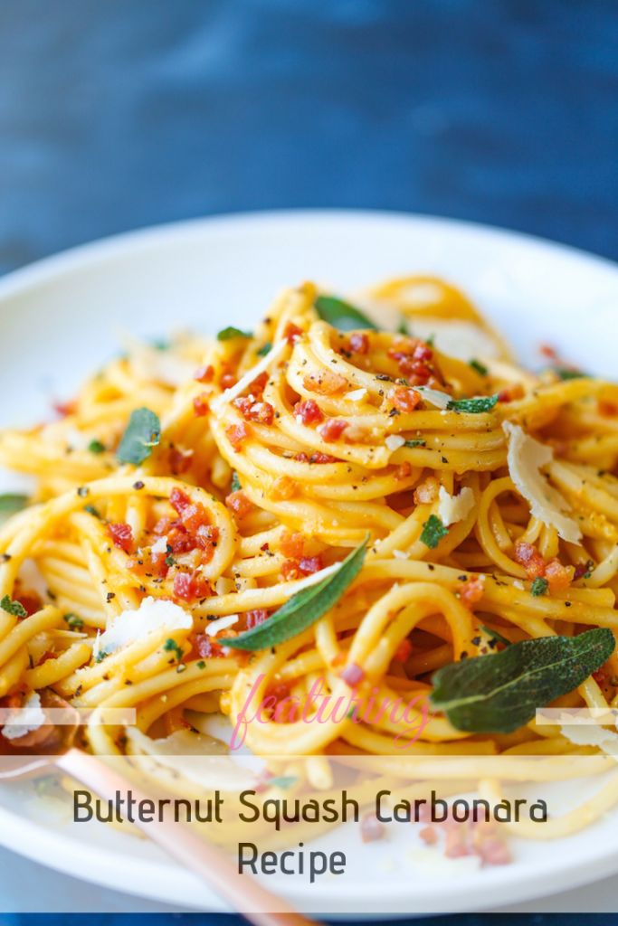 This Easy Butternut Squash Pasta Recipe Is The Perfect Fall Meal