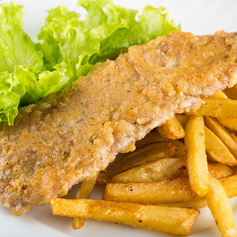 Gorgeous Homemade Fish And Chips Recipe
