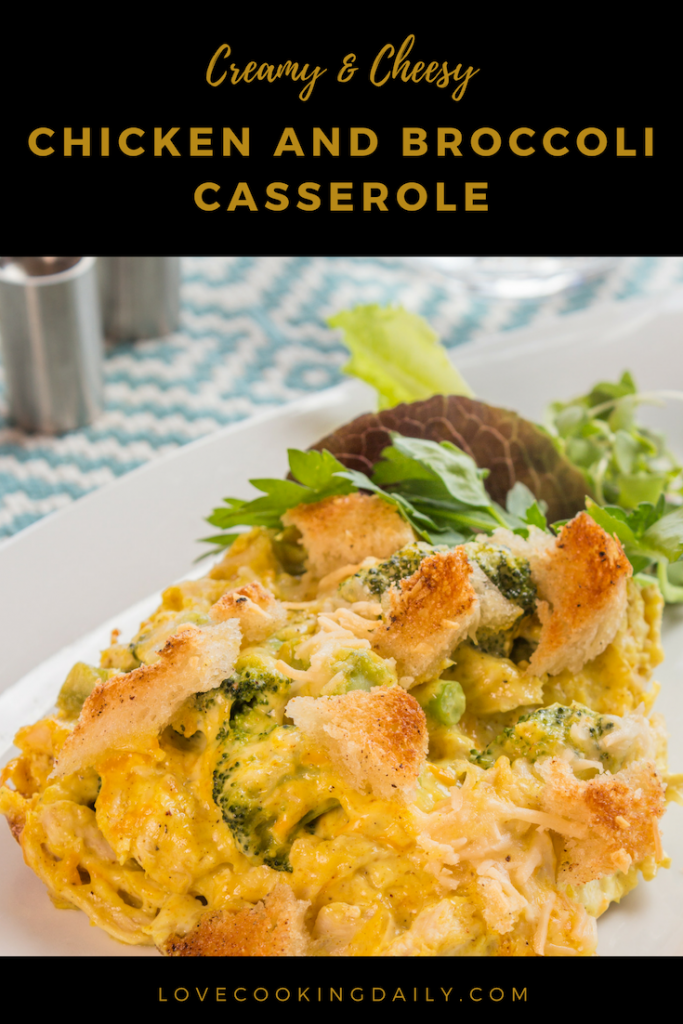 Chicken And Broccoli Casserole With Cream Of Chicken Soup- Your Kids Will Love This Recipe And It Is Easy To Cook!