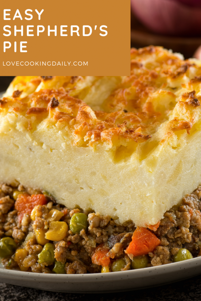 This Recipe For Shepherd's Pie With Ground Beef Is Insanely Good